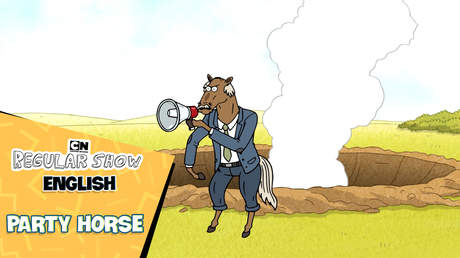 Regular show English - Ep 20: Party horse
