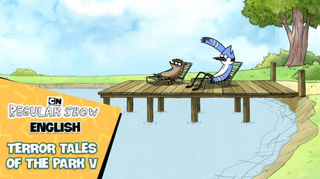 Regular show English - Ep 28: Terror tales of the park V