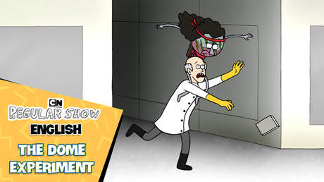 Regular show English - Ep 32: The dome experiment