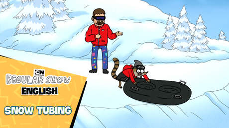 Regular show English - Ep 42: Snow tubing