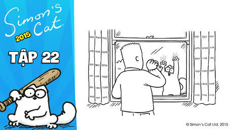 Simon's cat 2015 - Tập 22: Window pain