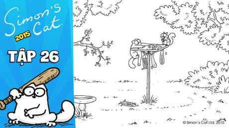 Simon's cat 2015 - Tập 26: Nut again