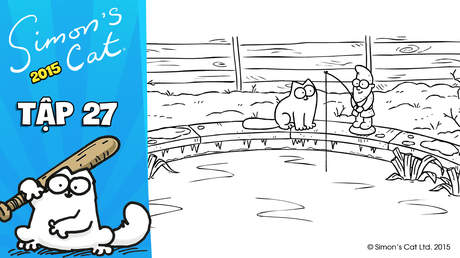 Simon's cat 2015 - Tập 27: Ice capade