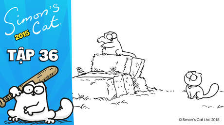 Simon's cat 2015 - Tập 36: Smitten