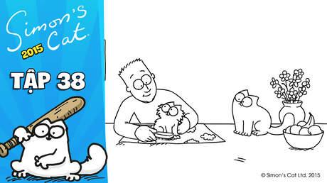 Simon's cat 2015 - Tập 38: Pawtrait