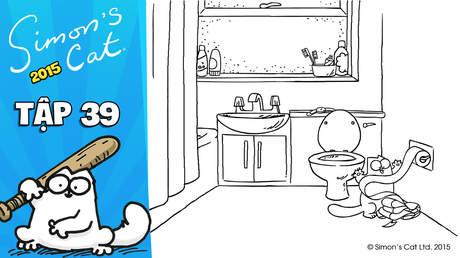 Simon's cat 2015 - Tập 39: Hot water