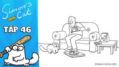 Simon's cat 2015 - Tập 46: Pizza cat