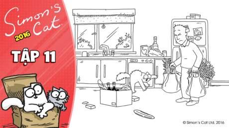 Simon's cat 2016 - Tập 11: Dinner date - Starters