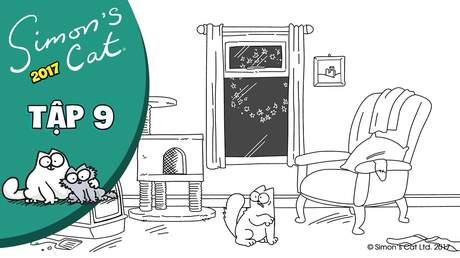 Simon's cat 2017 - Tập 9: Fireworks