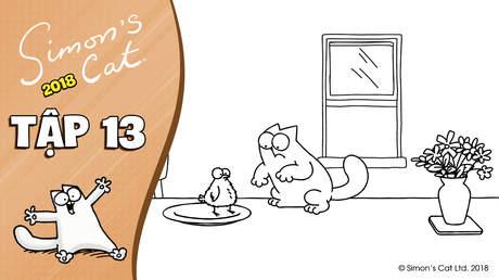 Simon's cat 2018 - Tập 13: In festive feast