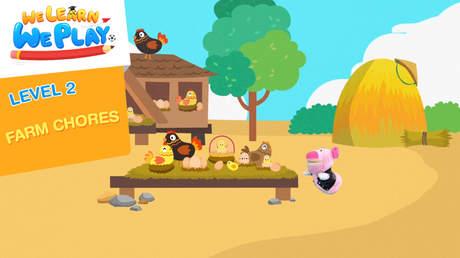 We learn We play - Level 2: Farm chores