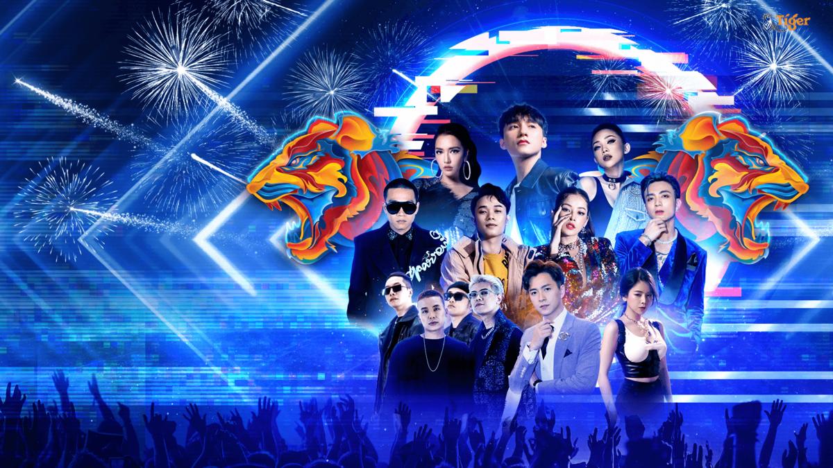 Tiger Remix 2021 - Đại Nhạc Hội Thực Tế Ảo